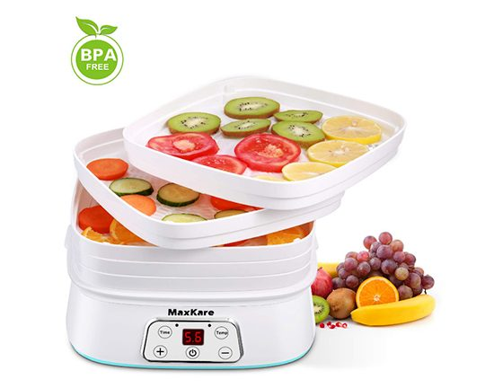 Maxkare food dehydrator review amazon